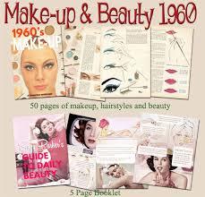 1960s makeup tutorial books vine