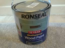 Ronseal Paint Dark Grey In Wa10 Helens For 8 00 For Sale Shpock