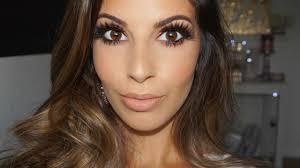 makeup tutorial for brown eyes brown