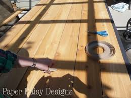 makeover an outdoor table and refresh