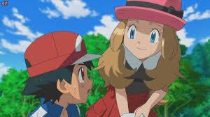 Pokemon Ash and Serena history - YouTube