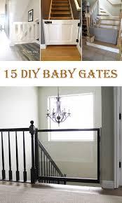 15 Awesome Diy Baby Gates Cool Diys