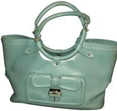 Jimmy Choo Tahula Hillary Green Leather Tote - Tradesy