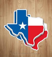 Texas Decal Texas Sticker Texas Gifts Texas Flag Sticker Etsy