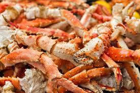 Alaskan King Crab Legs - Cruising Crab