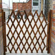 Retractable Pet Protection Wood Door Folding Dog Gate Dogs Fence Safe Guard Pine Wood Fence Pet Barrier Stretchable Houses Kennels Pens Aliexpress