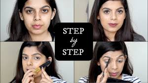 step makeup tutorial for beginners