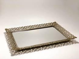 vanity tray vintage wedding centerpieces