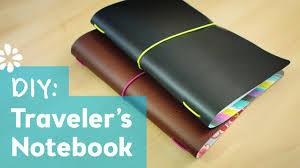 diy midori style traveler s notebook