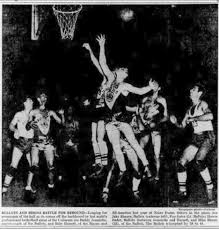 """Leo Ferris auf Twitter: """"Leo's Bisons/Blackhawks NBL team featured the  talents of William """"Pop"""" Gates, Don Otten, & coach/player Nat Hickey of the  Original Celtics. Gates debuted with Bisons in Oct.1946 &"""