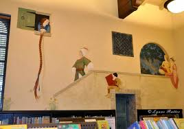 The Ornamentalist Library Children S Room Mural Completed