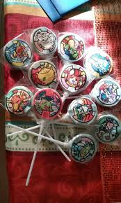 Yo Kai Watch Birthday Party Lollipops Ideas Fiestas Infantiles