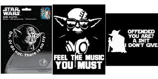 Top 7 Best Yoda Car Decals Inkcd452 Select Star Give Die Best Stickers Decals And Magnets