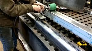 diy surface grinder linear polisher
