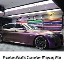 Highest Quality Chameleon Vinyl Wrap Car Wrapping Paper Bubble Free Wrapping Film Diamond Purple Black Vinyl Quality Warranty Car Stickers Aliexpress