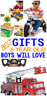 best gifts 3 year old boys will love