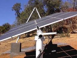 diy sun tracking solar panel mount