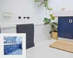 bathroom tile paint and colours dulux