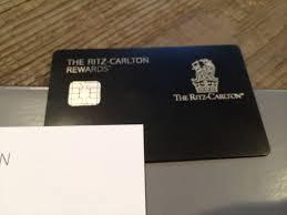 ritz carlton card offer clarification
