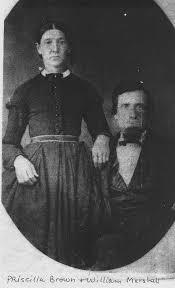 Priscilla Marshall (Brown) (1825 - 1902) - Genealogy