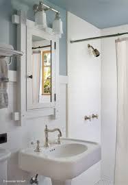 craftsman bathroom shower subway