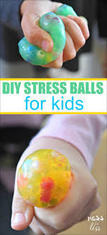 diy stress mess for less