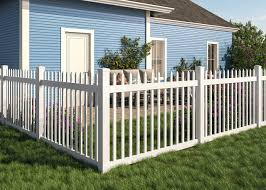 Wambam No Dig Permanent Nantucket Picket Vinyl Fence W Post And No Dig Steel Pipe Anchor Kit 4 High By 6 Wide Amazon Com Au Lawn Garden