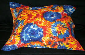 tie dye bedding full size pillow sham