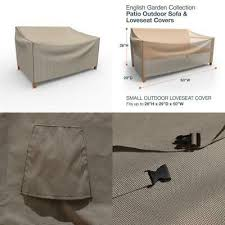 garden small patio loveseat covers