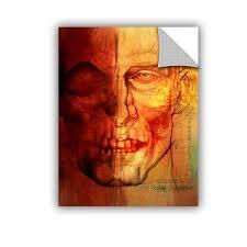 Facial Anatomy Removable Wall Decal Artwall