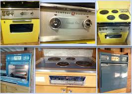 ge stoves 1950 60s wall ovens 1957