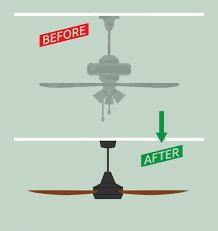 ceiling fan installation universal