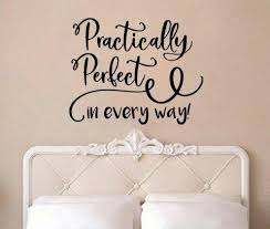 Mary Poppins Practically Perfect In Every Way Swirls V2 Wall Decal Sti Lucky Girl Decals