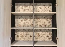ideas for decorating cabinet interiors