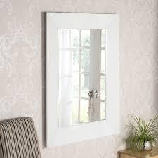 frameless bevelled art deco mirror