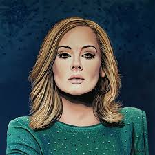 Adele Painting 3 | Paints
