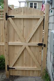 Wooden Fence Gate Designs Free 17 Irresistible Wooden Gate Designs To Adorn Your Exterior Woodsinfo