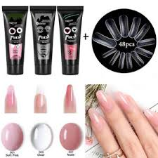 poly extension uv gel nail polish set