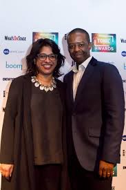 Indhu Rubasingham MBE and Adrian Lester OBE Credit Adam Bennett - Tonic -  Supporting theatre and the arts to achieve greater equality, diversity and  inclusion