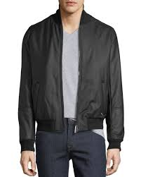 stefano ricci men s leather jacket with