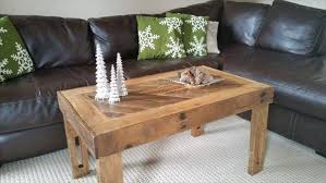 pallet rustic modern wood table