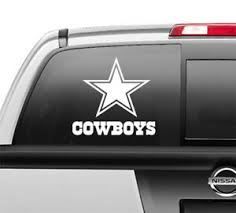 Dallas Cowboys Window Sticker Vinyl Decal Any Size Any Color Ebay