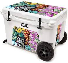 Amazon Com Mightyskins Cooler Not Included Skin Compatible With Yeti Tundra Haul Cooler Graffiti Wild Styles Protective Durable And Unique Vinyl Decal Wrap Cover Easy To Apply Made In The Usa