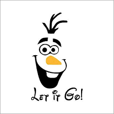 Xghc Cute Olaf Frozen Disney Style Let It Go Toilet Seat Wall Sticker Vinyl Decal Kid Buy Online In Burkina Faso Xghc Products In Burkina Faso See Prices Reviews