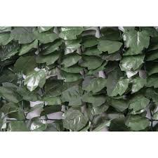 Naturae Decor 60 In X 96 In Faux Ivy Leaf Indoor Outdoor Privacy Roll Rld6096 1000 The Home Depot