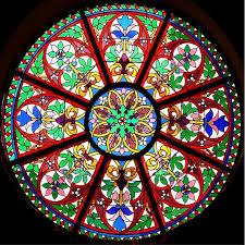 church window or mandala
