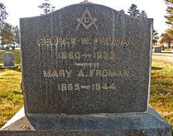 Mary Ada Bowman Froman (1865-1944) - Find A Grave Memorial