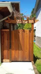 Cedar Gates Arbours Premium Fence Company