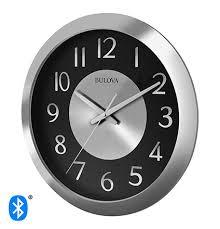streamer stereo bluetooth clock