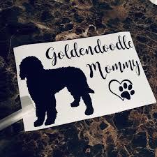 Other Goldendoodle Mommy Dog Decal Sticker Goldendoodle Poshmark